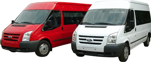 Picture of Ford Transit minibuses