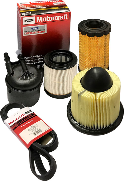 Picture of Motorcraft parts