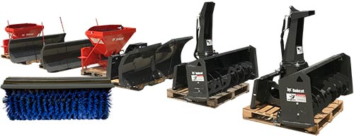 Picture of skid-steer attachments
