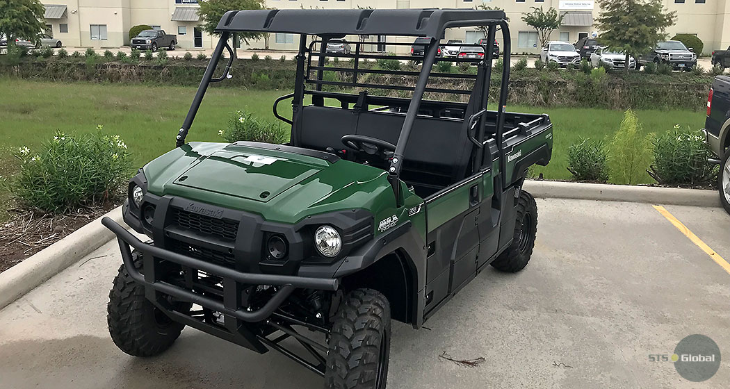 Kawasaki all terrain vehicle picture 1