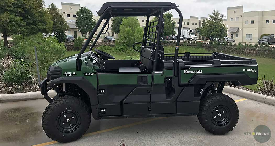 Kawasaki MULE side view